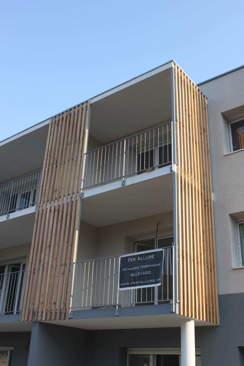 Brise Vue Terrasse Bois terrasse métal et bois, brise vue, claustra, design